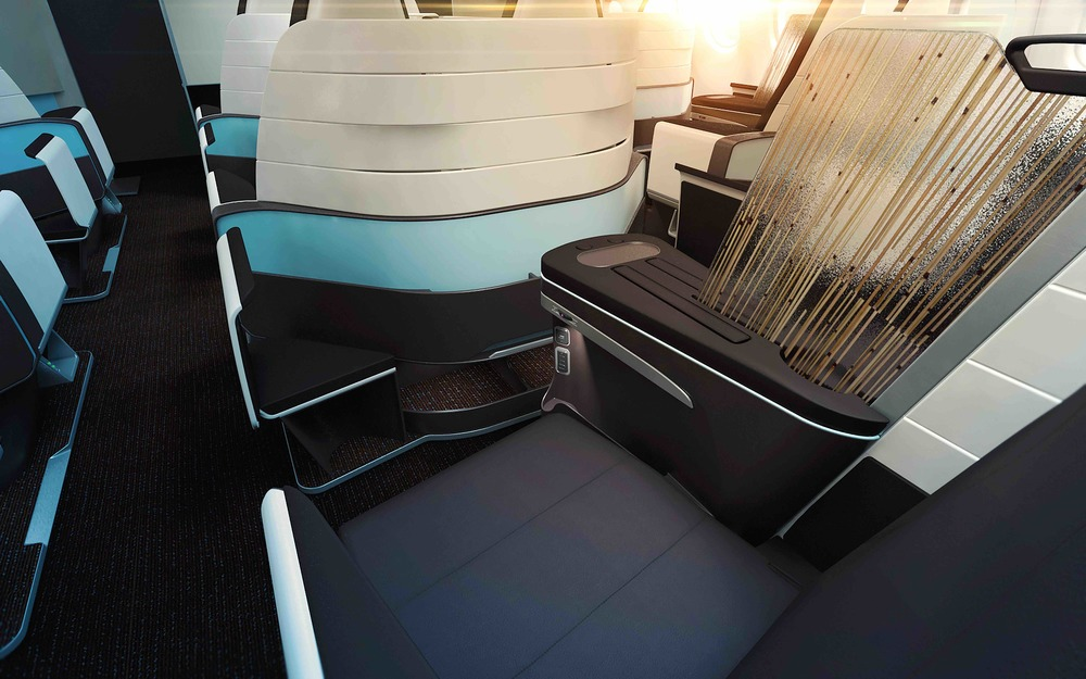Hawaiian Airlines is adding flatbeds in business class. Photo: Hawaiian Airlines.