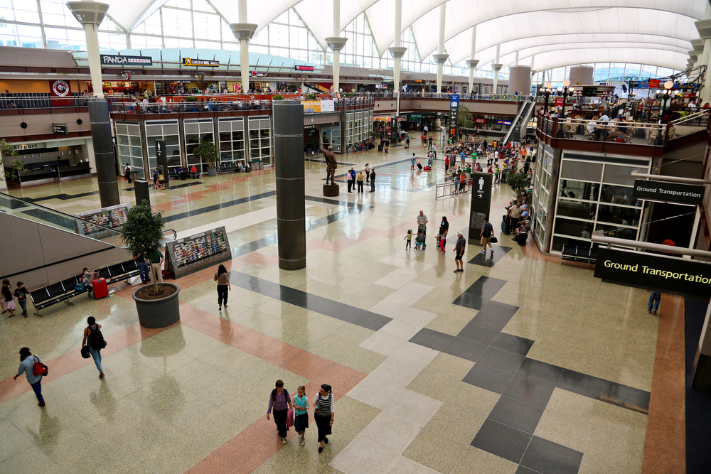 Denver wants to persuade you to spend more at the airport. Photo: Denver International Airport.