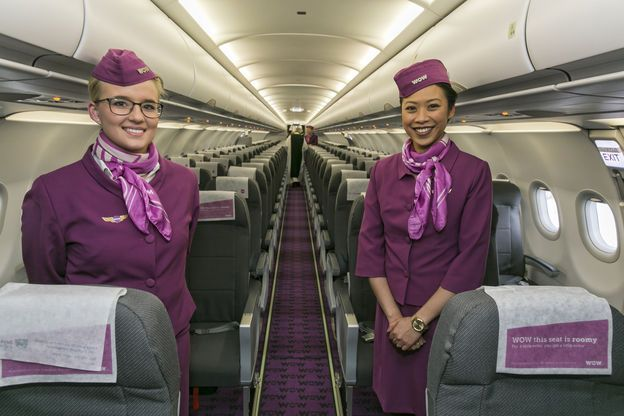 If you want a cheap flight to Europe and live on the East Coast, Wow Air might be your best bet. But don't expect much from the experience. Photo: Wow Air.