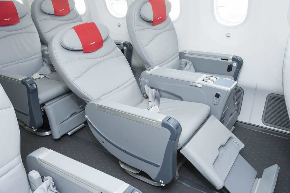 Norwegian Air has a popular premium economy section. Photo: Norwegian.