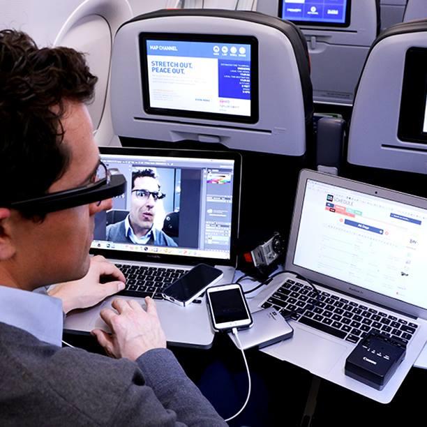 JetBlue offers free WiFi, unlike its competitors. Photo: JetBlue via Facebook.