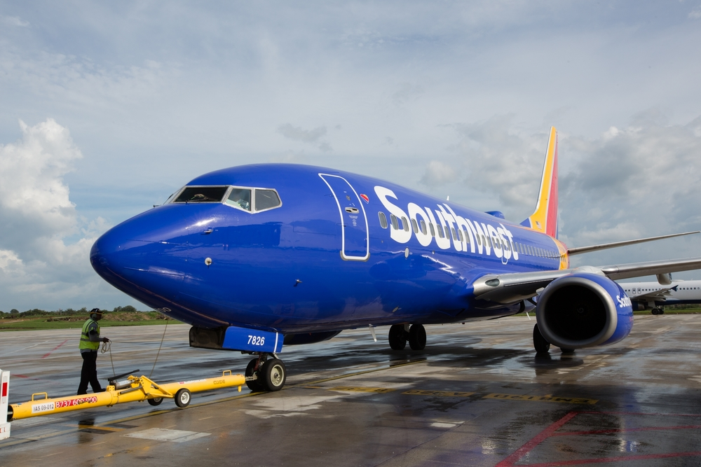 Southwest will fly internationally from LAX starting in April. Photo: Southwest Airlines.