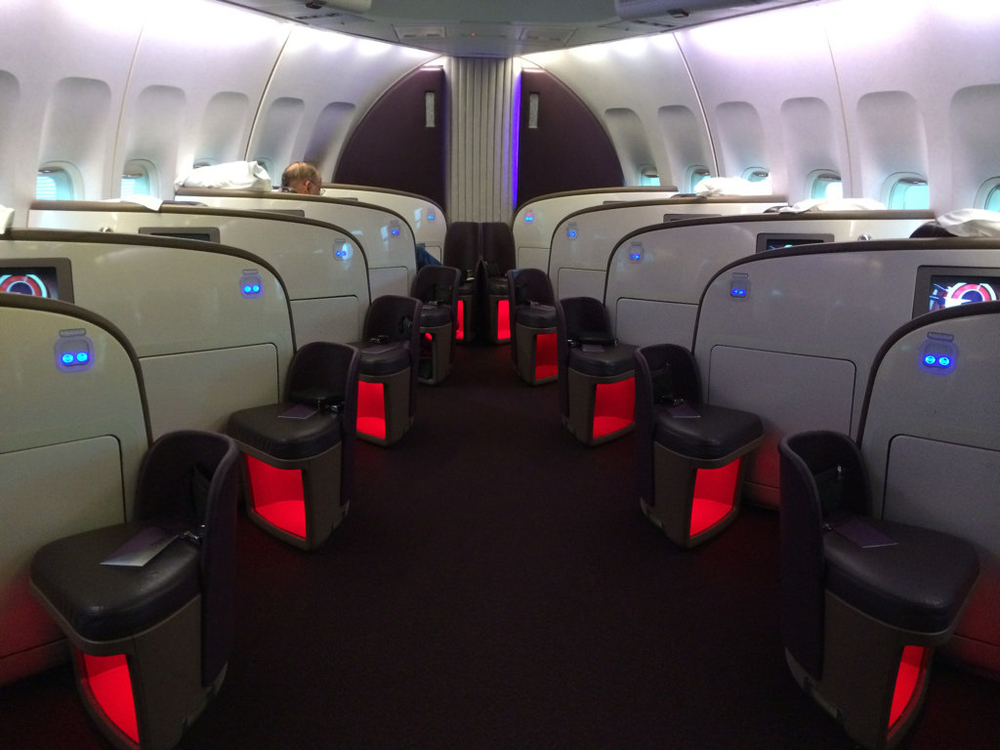 If you want an upgrade to Virgin Atlantic upper class, you better do more than try to sway airline workers with a good story: Photo:Tom Mascardo/Flickr (Creative Commons)