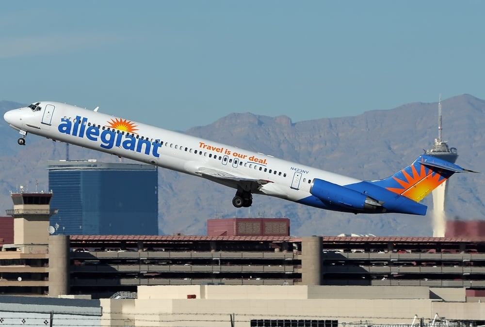 Want a deal on Allegiant Air? Be sure to act quickly. Photo: Aldo Bidini/Wikimedia Commons.
