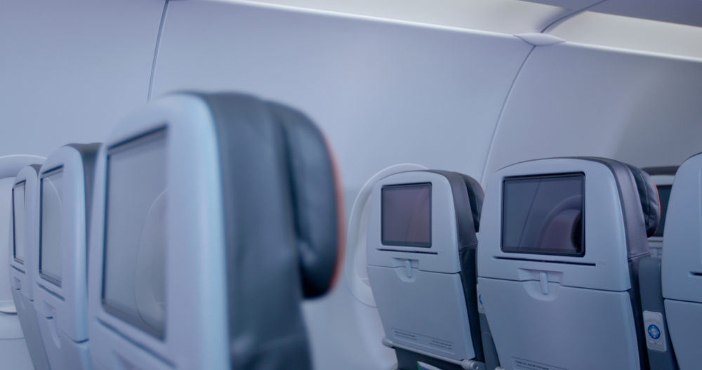 JetBlue is adding large high-definition screens on its A320s. Photo: JetBlue.