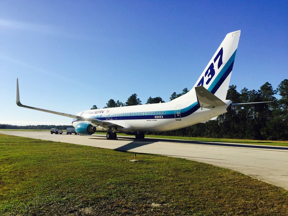Eastern is back - as a charter operator. Photo: Eastern Air Lines.