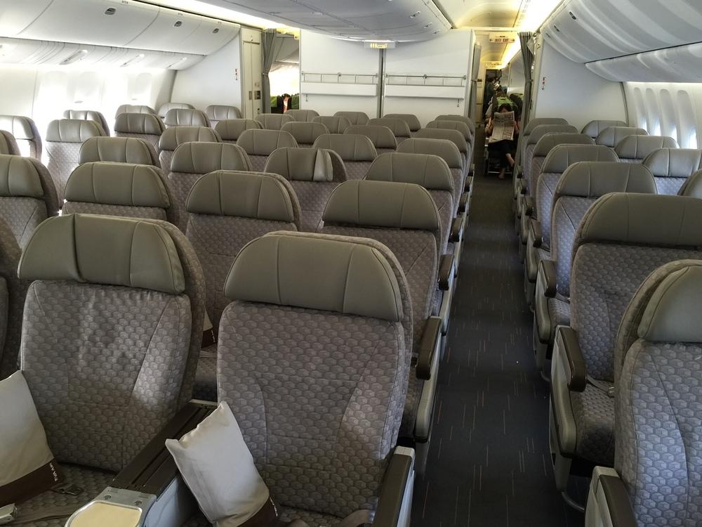 Eva Airlines Boeing 777 300er Trip Report Ho Chi Minh