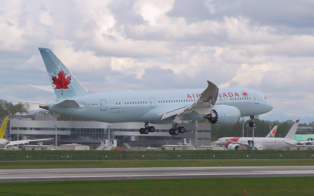 Air Canada's global strategy relies on the Boeing 787. Photo: Air Canada