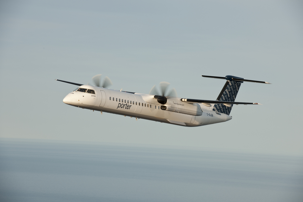 For now, Toronto-based Porter Airlines only flies turboprops. Photo: Porter.