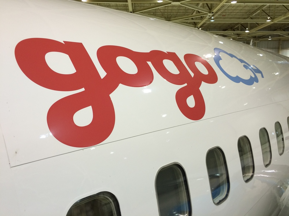 Gogo knows it must improve its WiFi. Photo: Gogo.