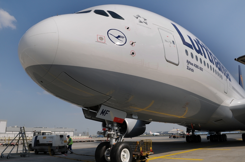 Lufthansa has studied how to make airline boarding faster. Photo: Lufthansa