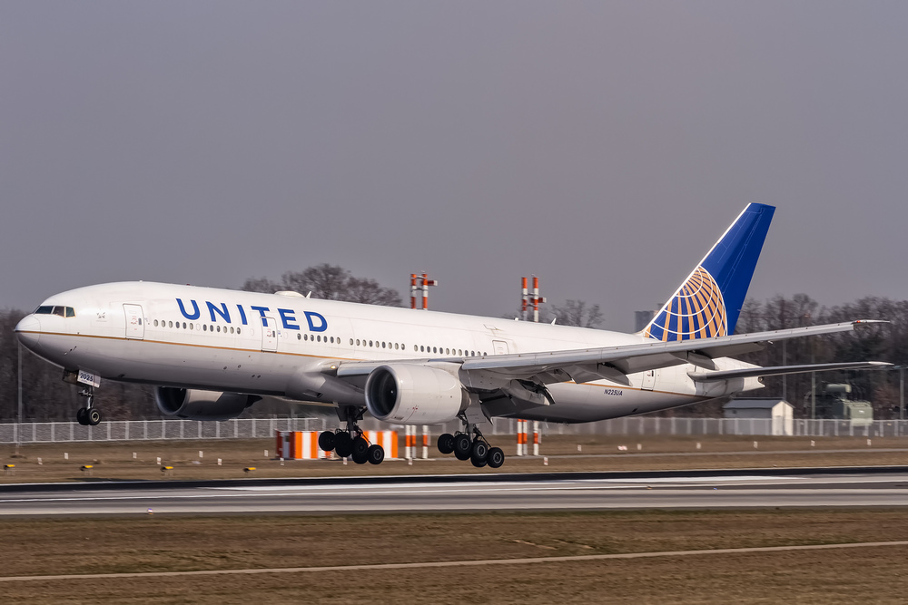 United will add a seat to each row on 19 Boeing 777s. But not this one. Photo:  Oliver Holzbauer /Flickr (Creative Commons)