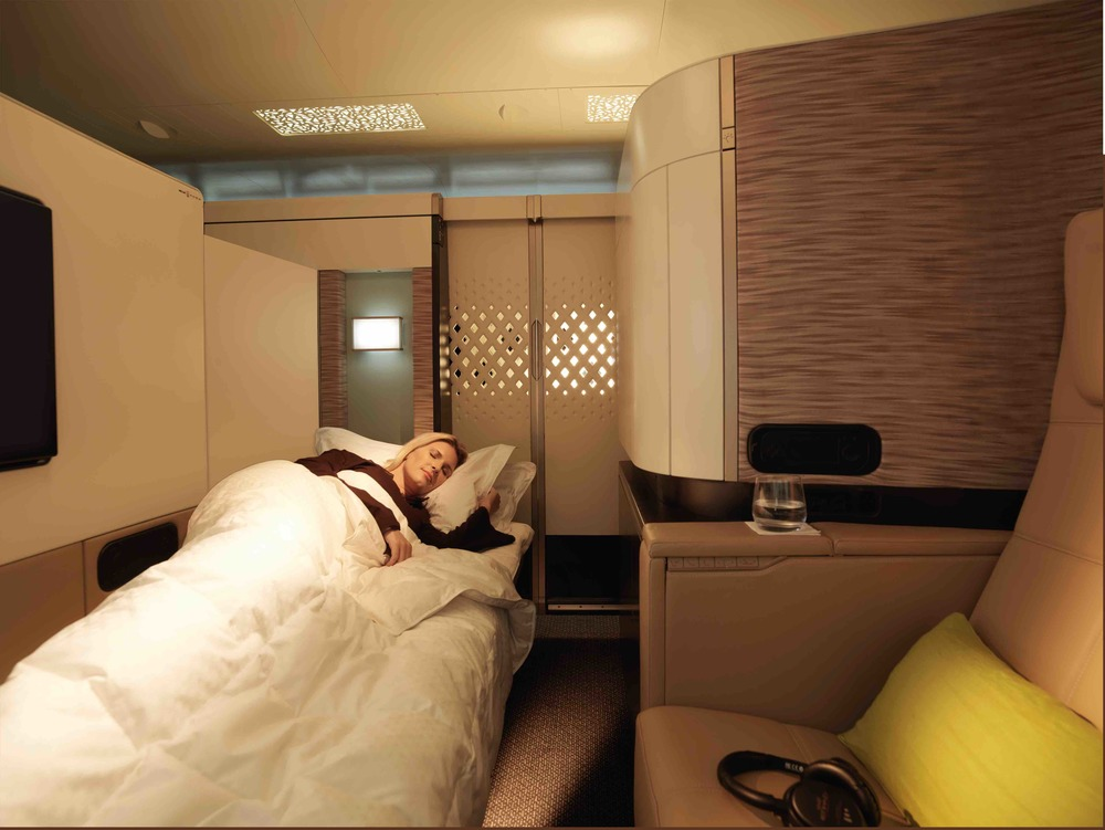 Is Ethiad the best first class product flying from Los Angeles? The Hollywood Reporter seems to think so. Photo: Etihad.