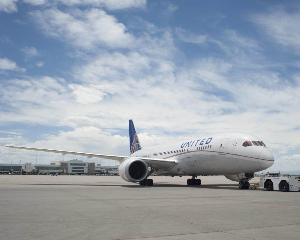 United is flying a Boeing 787s between Los Angeles and Newark. Do you know why?