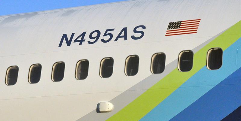 Look for new registration numbers on Alaska's fleet. Photo: Alaska Airlines.