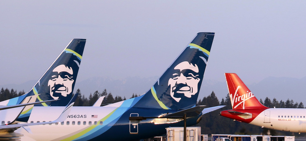 Alaska Airlines was not the only airline that wanted to acquire Virgin America. Photo: Alaska Airlines.