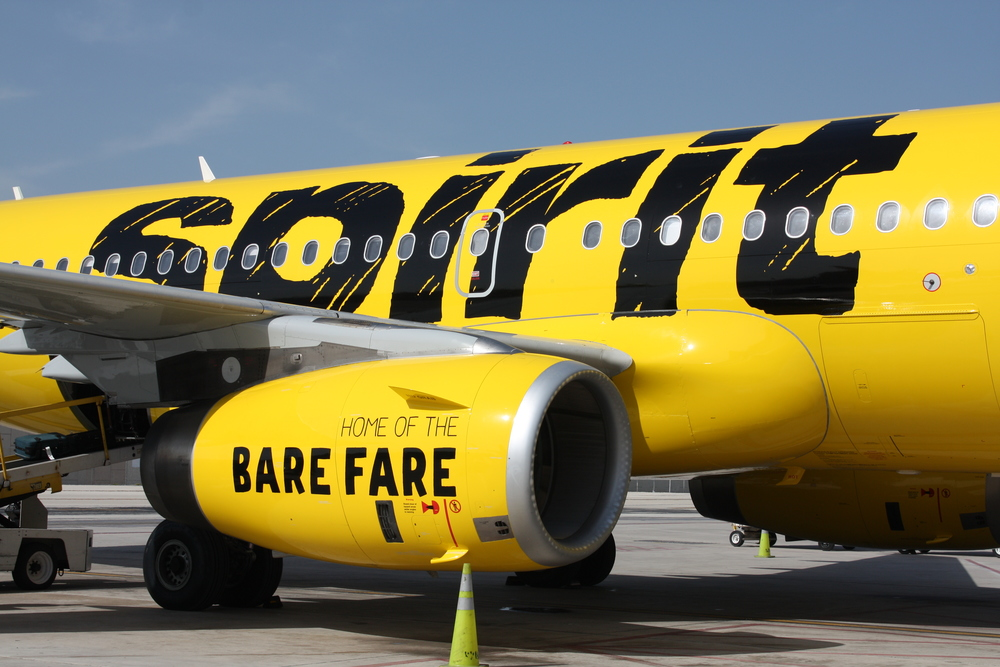 Spirit Airlines want to be a nicer. Photo: Spirit.