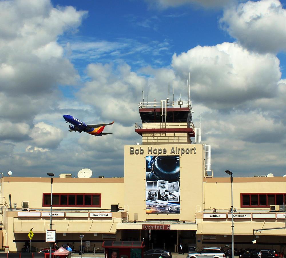 Bob Hope Airport has a new name. Photo: Bob Hope Airport.