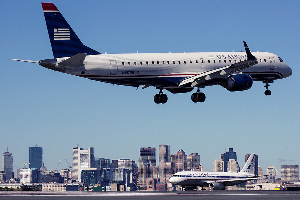 American will retire all of its E190s, which once flew for US Airways, by the end of 2017, the airline told employees this week. Photo:  David Montiverdi /Flickr (Creative Commons)