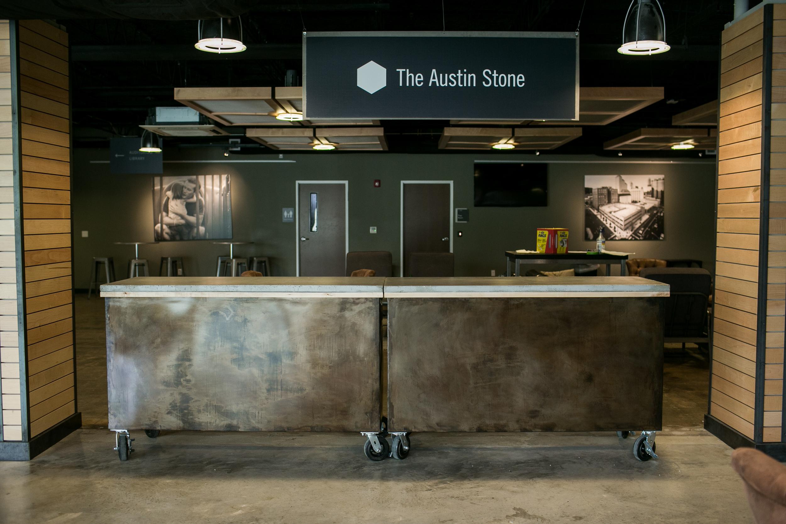 Austin Stone Church  Second Chance Custom - Custom furniture austin