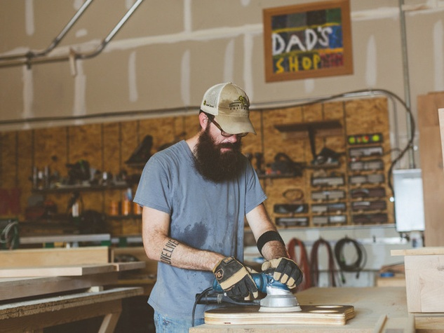 """Dad's Shop"" Photo by Heather Banks via Houzz.com"