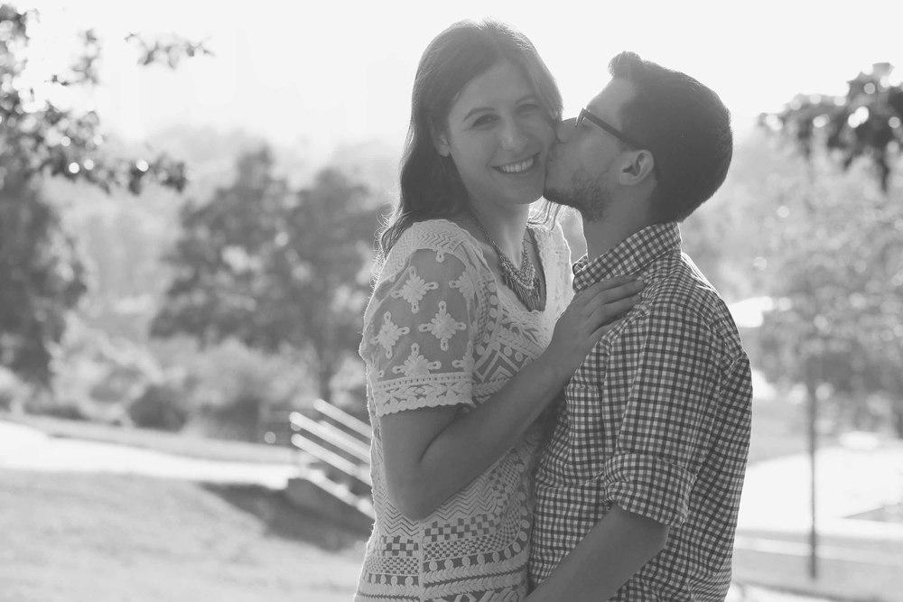 Charlotte NC, Cordelia Park Engagement Photography