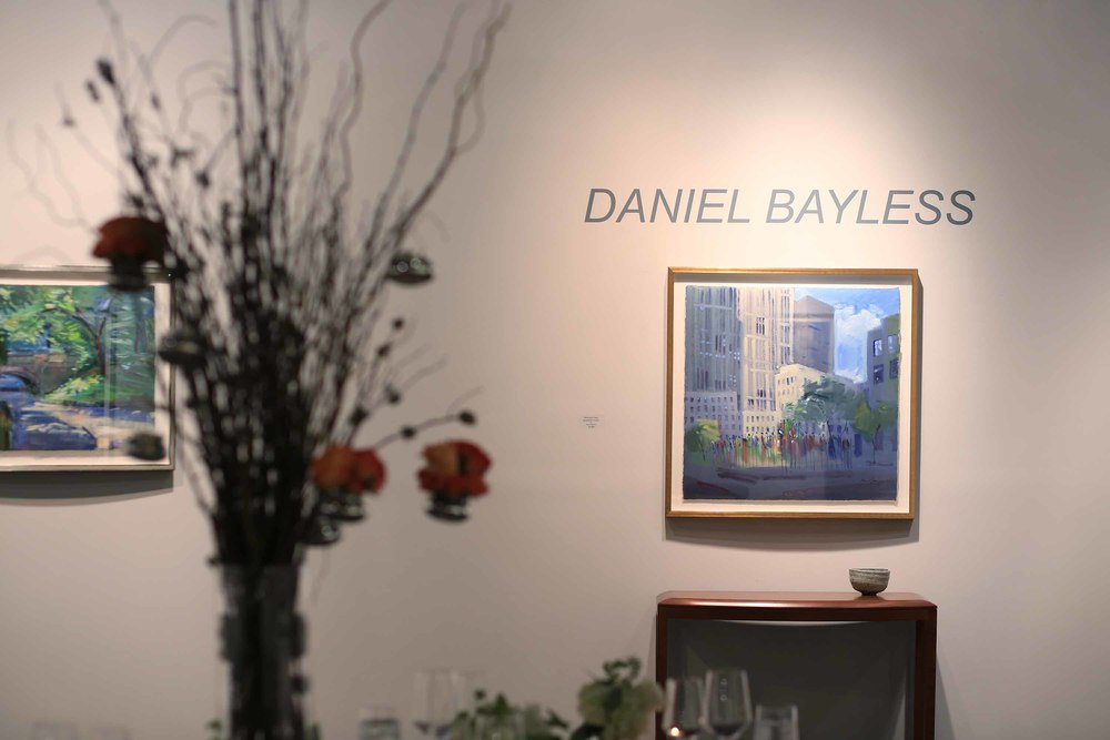 The featured artist was  Daniel Bayless .