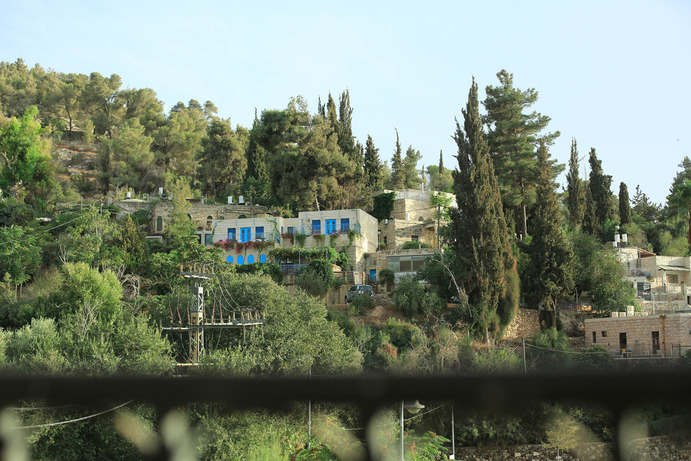 A view from the restaurant where we dined in Ein Karem:  Karma .