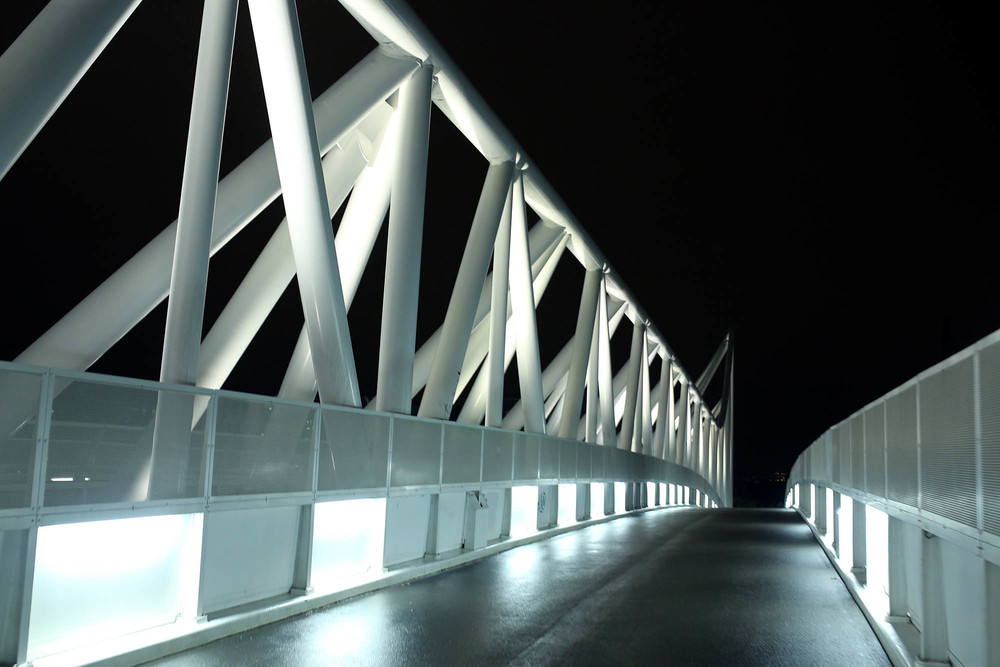 this bridge looked like something out of 2001 space odyssey
