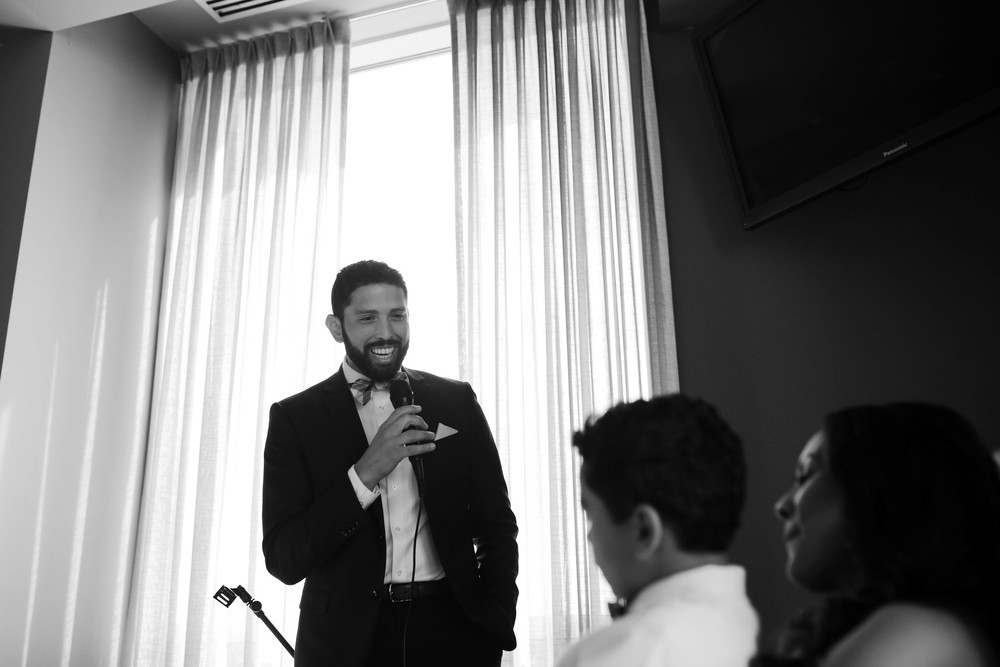 "when José proposed he sang ""ordinary people to Vanessa"" so he sang again on their wedding day! so sweet!"