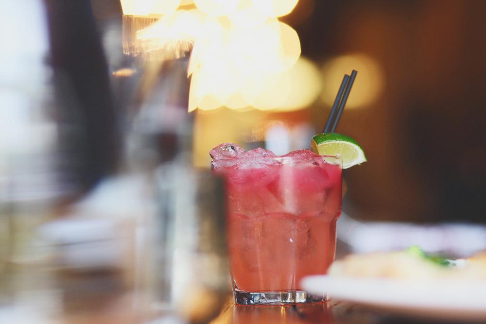 bella rossa: don julio blanco, blood orange liquor, grapefruit juice, grapefruit bitters