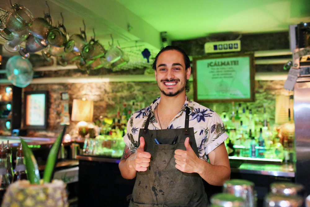This guy was super sweet and a fantastic bartender. Follow on instagram @mickey.rizk