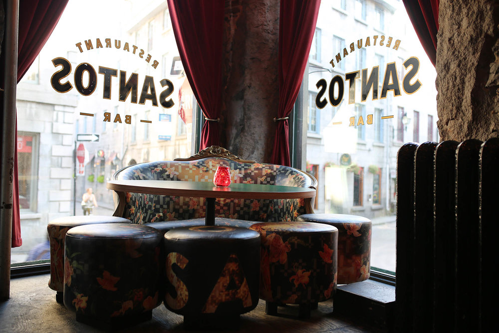 for Spanish tapas and fantastic décor (oh and OYSTERS). go HERE! Santos