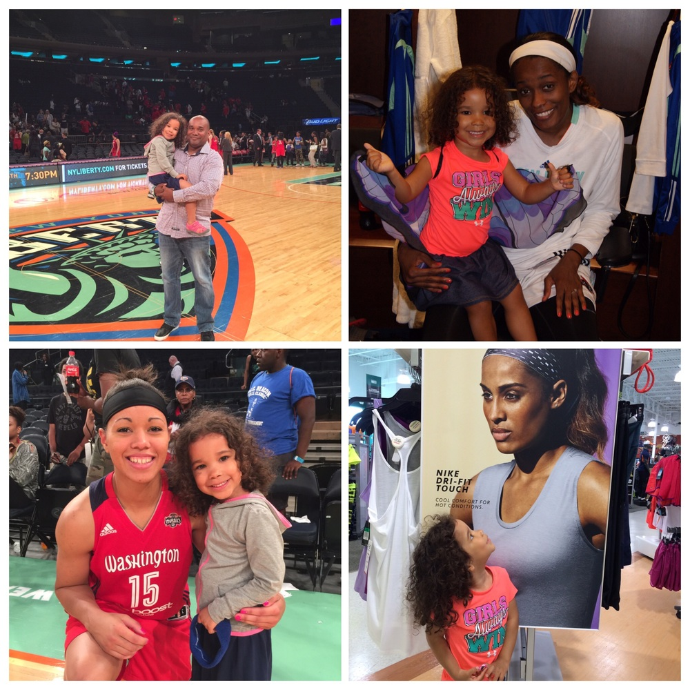 We love the WNBA and find ways to support the league and its players whenever we can.