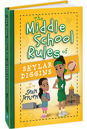 Although my daughter did not read this book on her own, I read it to her over the course of the summer. It is the story of Skylar Diggins, my daughter's favorite player. So many of her life lessons or rules are similar to ones already shared with my daughter.
