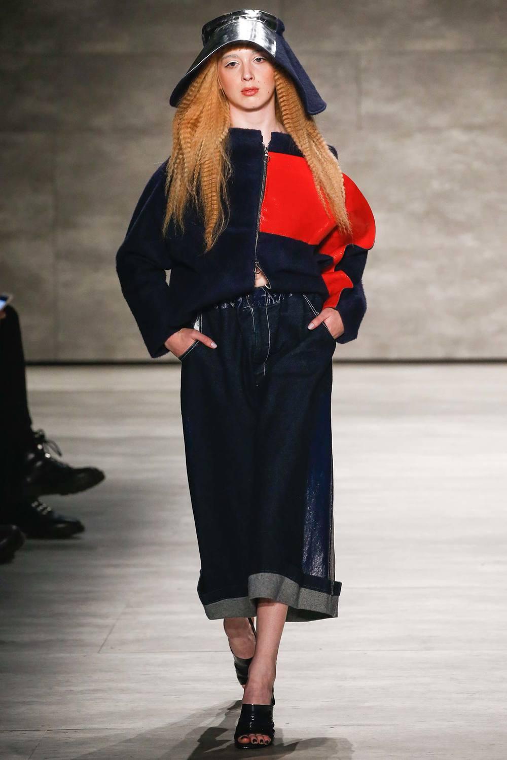 Julia Seeman  photo: Gianni Pucci for style.com