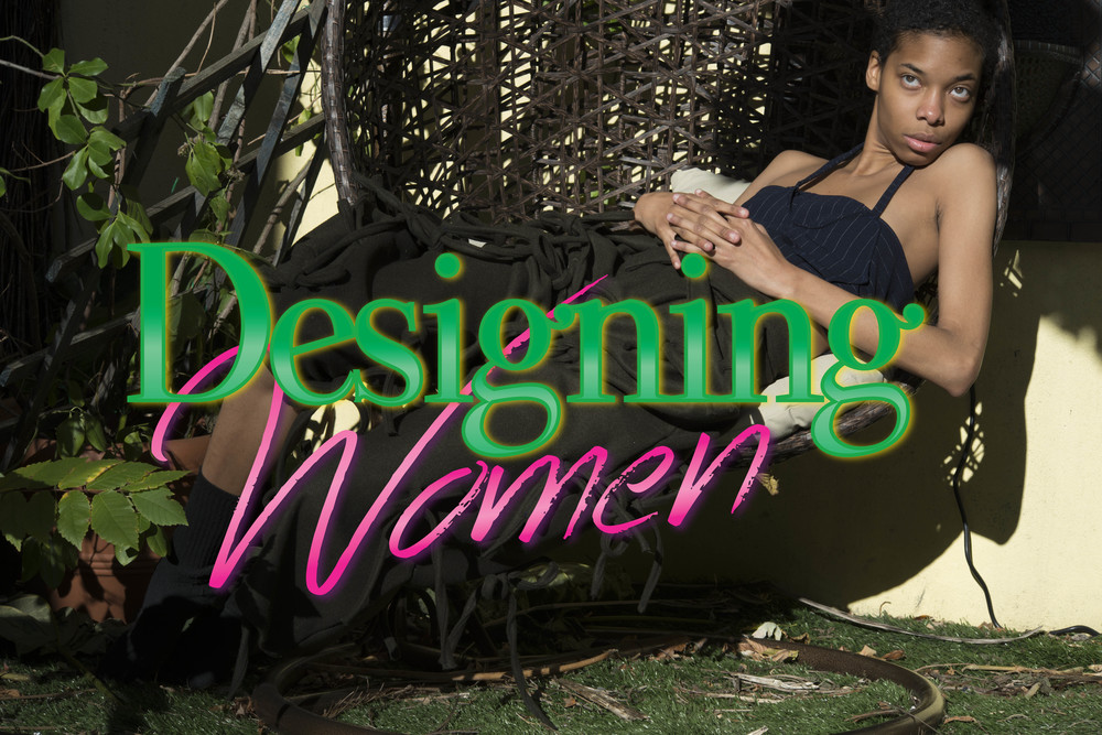 refigural issue 5 - designing women  photography logan jackson  model safara millett