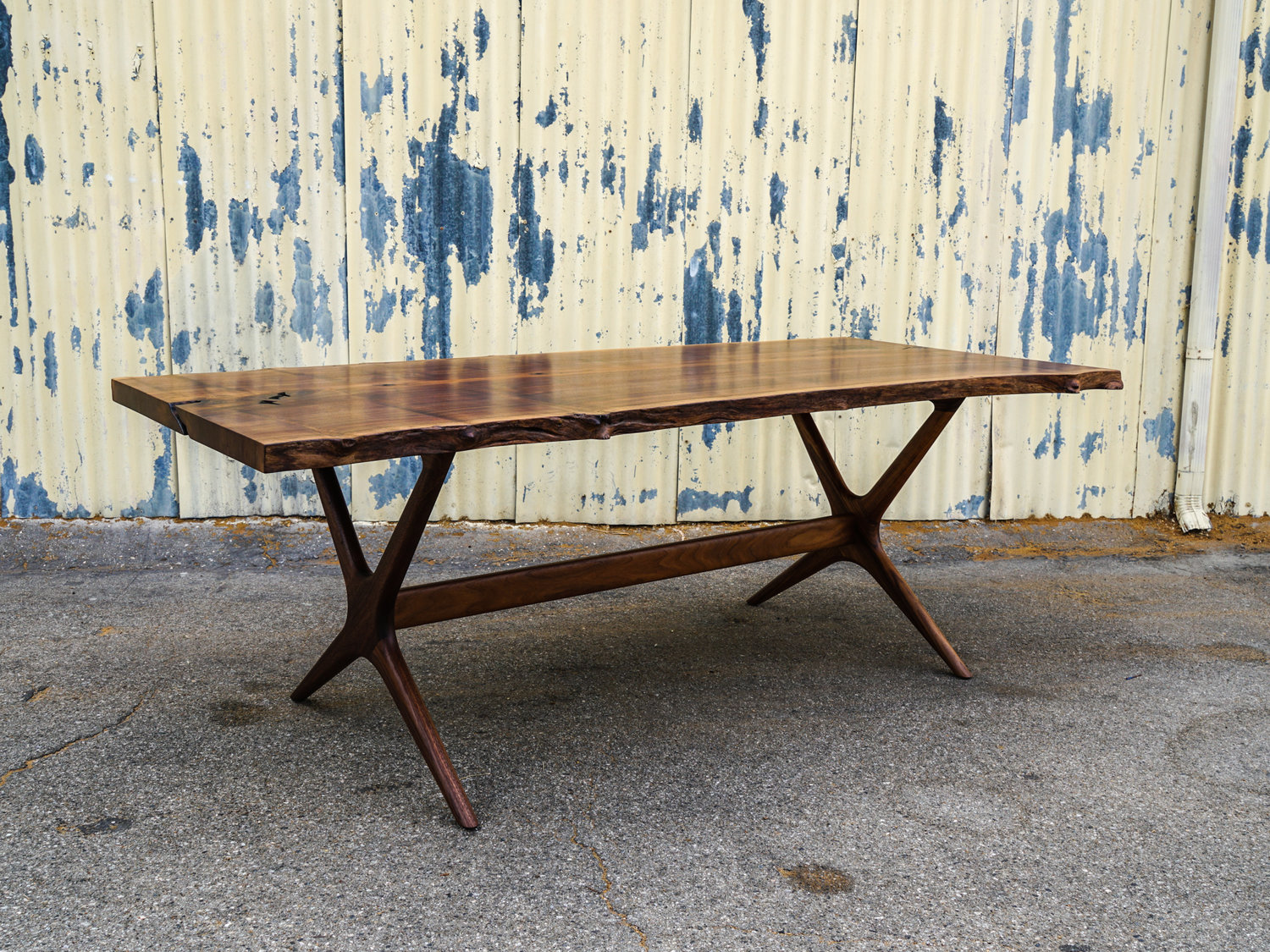Atlas table and bench salsbury furniture atlas table and bench geotapseo Images