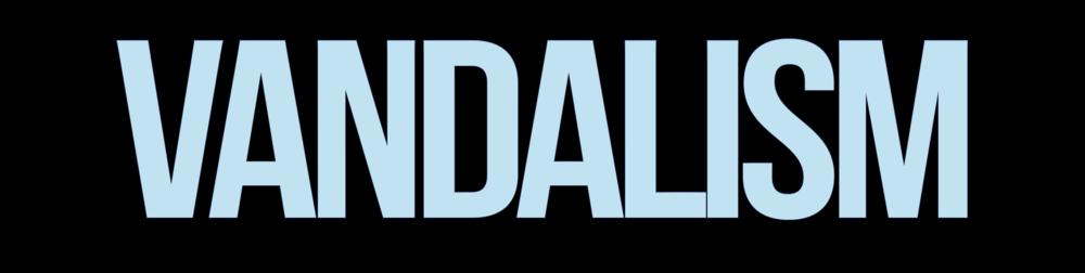 Vandalism Logo2013 Blue.png