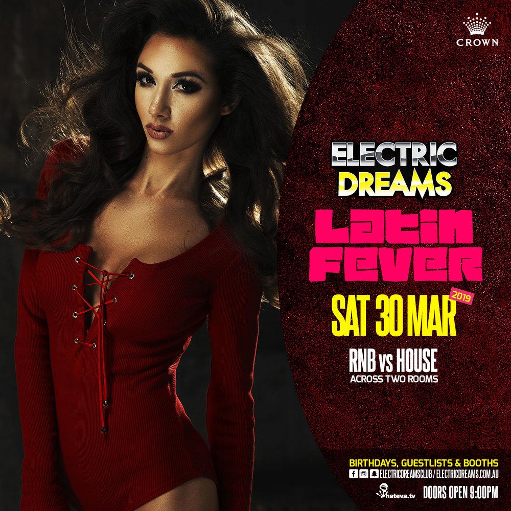 ELECTRIC DREAMS @ Crown