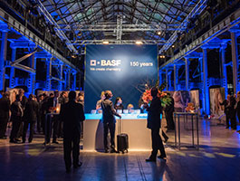 BASF event space by Brand Dimensions