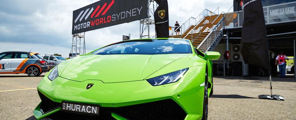 MotorWorld Sydney Lamborghini
