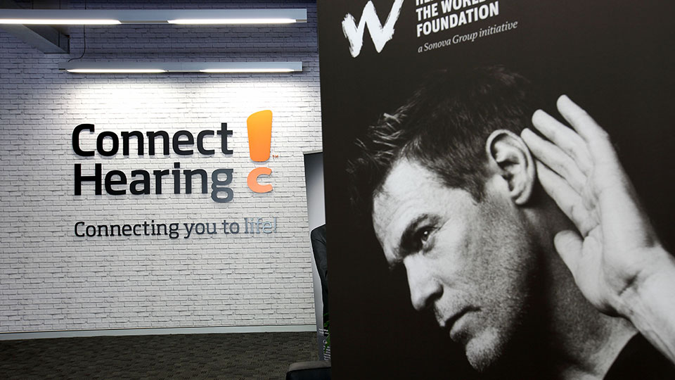 Connect Hearing Entrance
