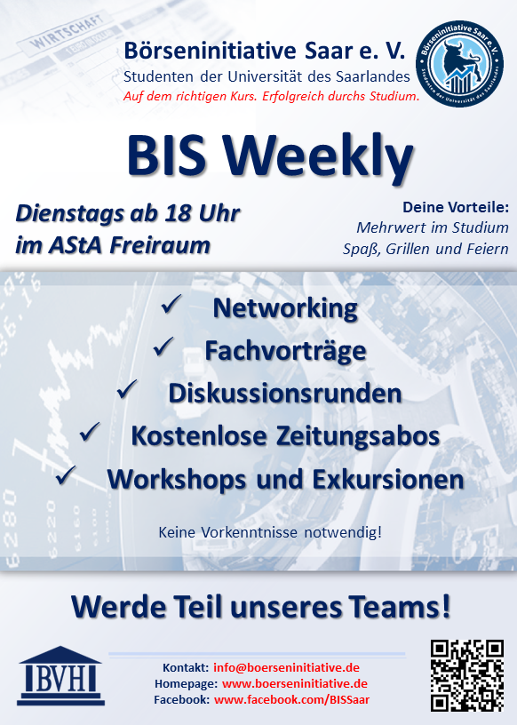 BIS Weekly Flyer