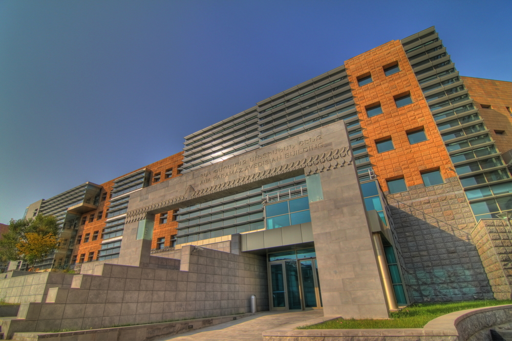 American University of Amerian (AUA) Located in Yerevan, Armenia