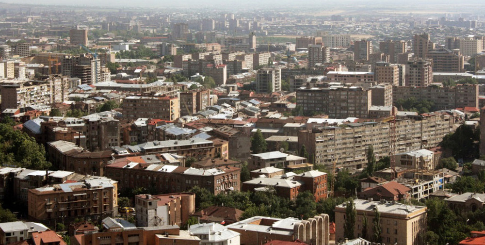 Housing in Yerevan, Armenia                                                            Photo Credit:  Alina Hachikyan