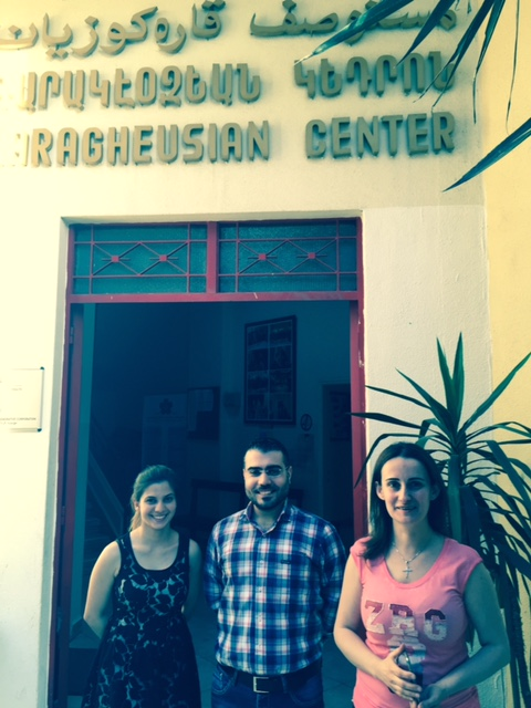 Heroes in the field: social workers of Karageuzian Foundation in Bourj Hammoud