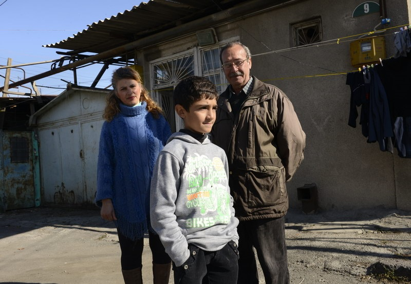 Syrian families trying to rebuild new lives in Armenia. Photo credit Zaven Khatchikyan