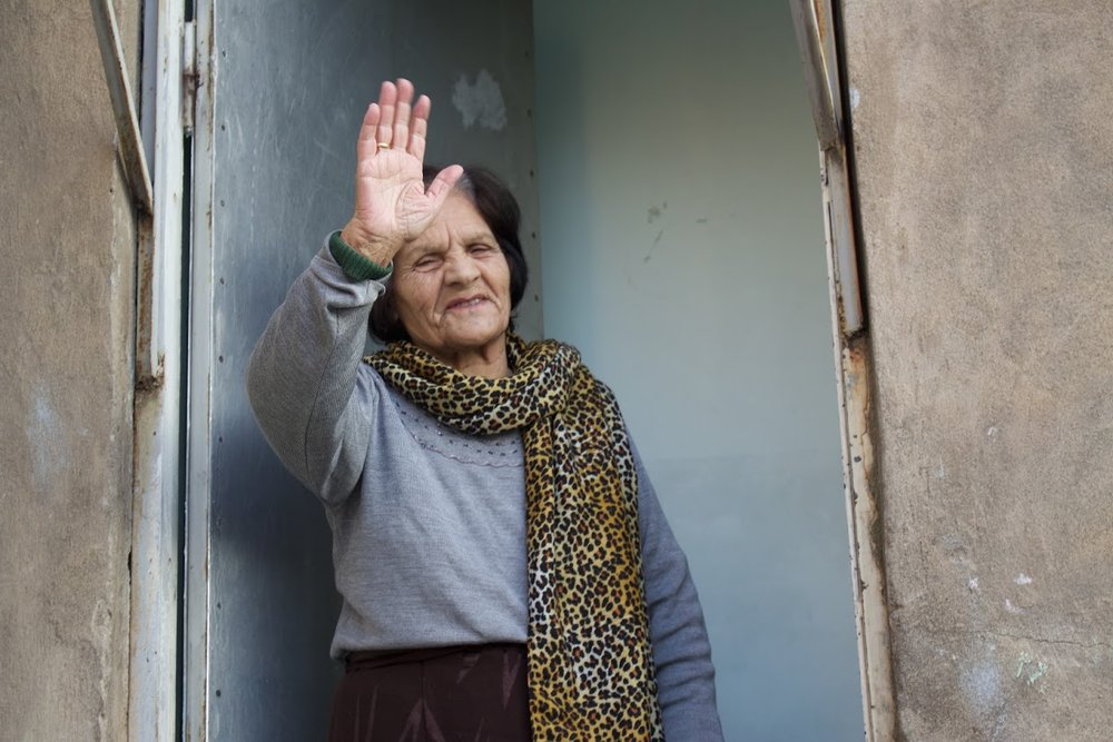 Beneficiary of the Rent Subsidy Program in Armenia. Photo credit: James Aram Elliot