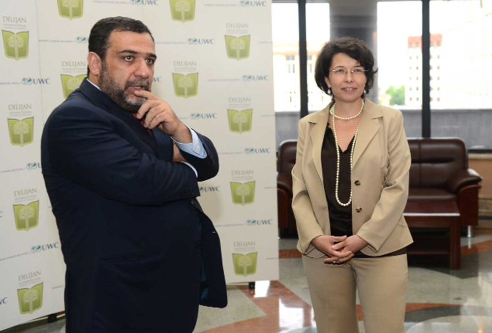 RUBEN VARDANYAN AND VERONIKA ZONABEND